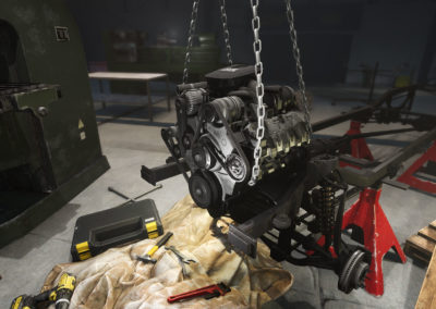 Diesel Brothers: Truck Building Simulator - Engine Assembly