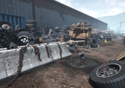 Diesel Brothers: Truck Building Simulator - Junkyard Chains