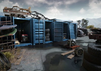 Diesel Brothers: Truck Building Simulator - Junkyard Containers