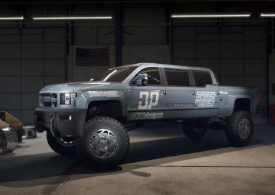 Diesel Brothers: Truck Building Simulator - Mega Ram Runner Garage