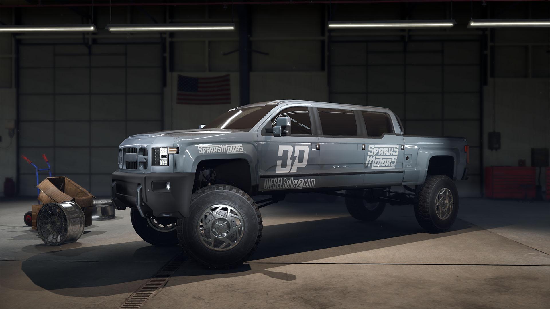 DieselBrothers RamRunnerGarage Dizel Kardeşler   Kamyon Yapımı Simülasyon Oyununu İndir